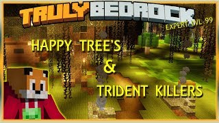 Truly Bedrock E72 Happy Tree's and Trident Killers | Minecraft Bedrock, MCPE, MCBE