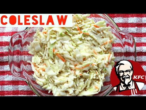 Healthy Coleslaw Recipe | How To Make a Low Calorie and Low Fat Homemade Coleslaw