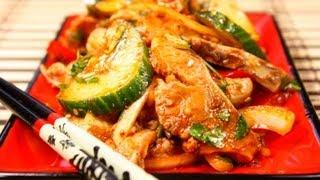 Хе из рыбы видео рецепт(На странице http://za100le.ru/salad/he.html Вас ждут подробные фото и ингредиенты этого рецепта., 2012-11-25T17:50:55.000Z)