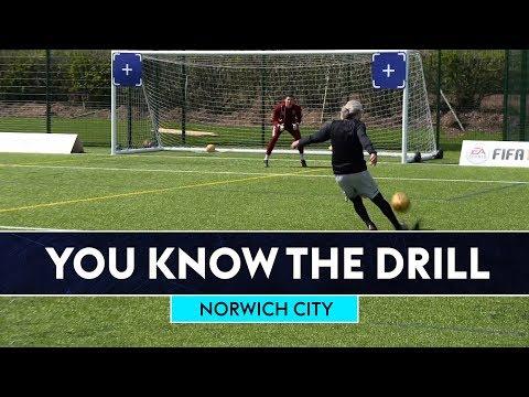 Jimmy Bullard pulls off INSANE lob 😱 🔥  Norwich City   You Know The FIFA Drill