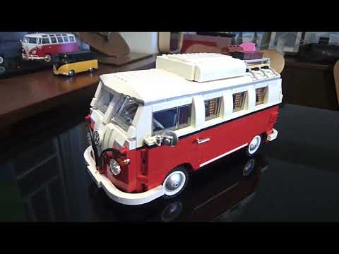 Modified New Lego 10220 Volkswagen Camper Van