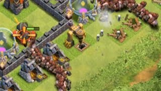 Clash of Clans Attacks LIVE - How NOT TO Hogrider, or 'Where's My Hogs?!'!
