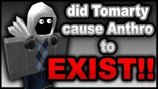 Teoría de Roblox: hizo Tomarty hizo Que Anthro existe!!