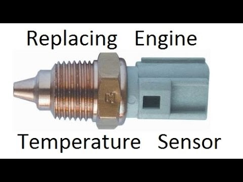 1989 Ford Bronco Ecu Wiring Diagram How To Replace Engine Coolant Temperature Sensor Youtube