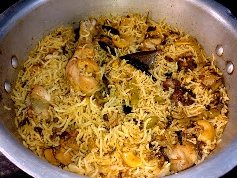 How to cook basmati rice for biryani in cooker
