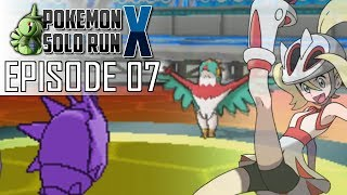 Pokemon X Solo Run 07: Fighting-Type Failure (Leader Korrina)