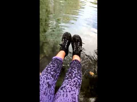 Wetlook - Agata in river with Superga