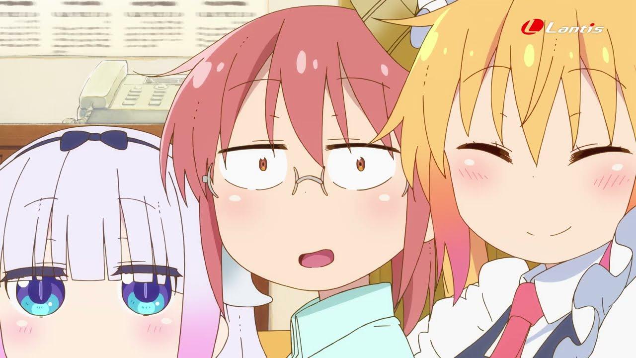 fhána「愛のシュプリーム!」TVCM第2弾(TVアニメ『小林さんちのメイドラゴンS』OP主題歌)