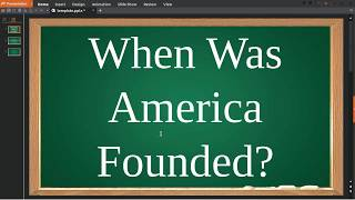 when was america founded