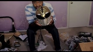 White Ranger Costume Unboxing Video
