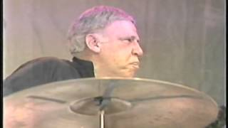BUDDY RICH DRUM SOLO LIVE @ CHICAGO JAZZ FEST 1985