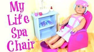 My Life as Spa Chair play set Review