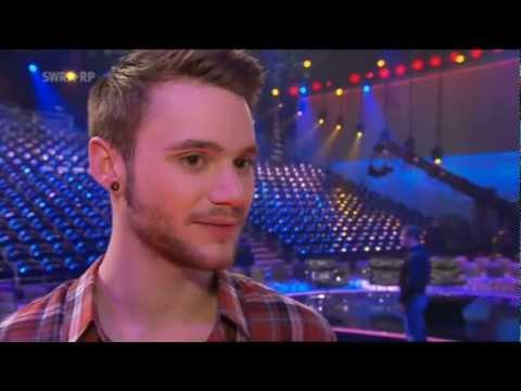 Roman Lob Backstage Interview