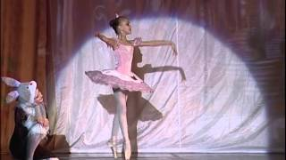 Nutcracker. Sugar Plum Fairy variation. Lada Sartakova (10 years age ballerina). October 21, 2012