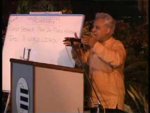 Lecture of Prof. Dr. Moiz Hussain About World Within At Liaquat National Hospital Part 7.mpg