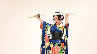 LADY SAMURAI #ladysamurai #花魁 #剣舞