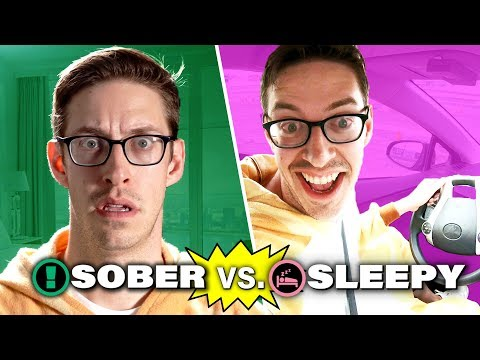 The Try Guys Test Sleep-Deprived Driving