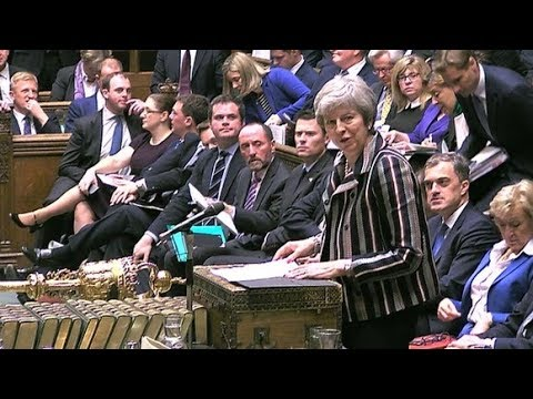 Theresa May faces MPs in the Commons after EU leaders back her Brexit deal | ITV News