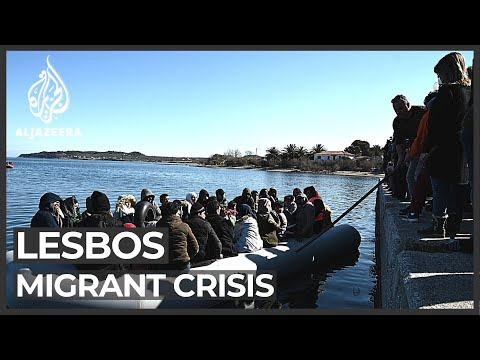 Lesbos migrant crisis: Thousands trying to reach Greek island