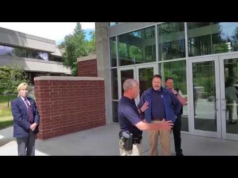 1st Amendment audit of the Kootenai County Courthouse, Idaho  ( pt. 1)