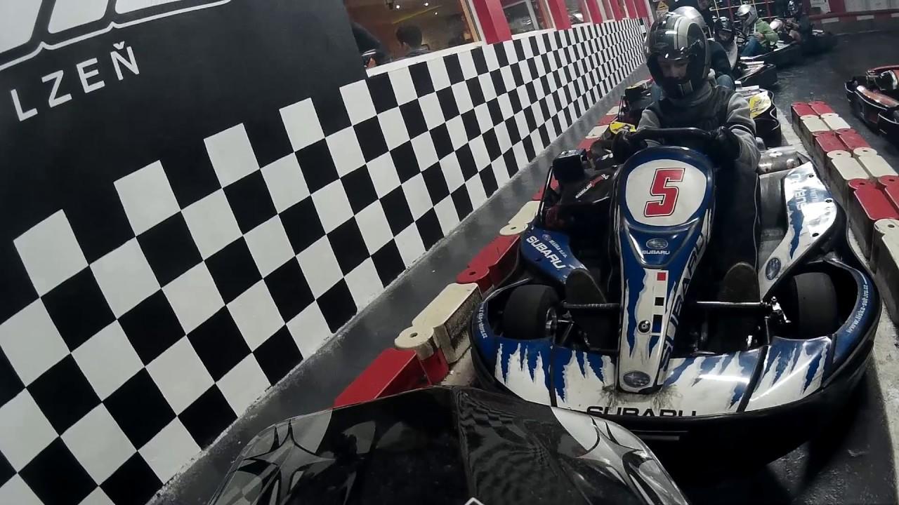 Motokary Kart Arena Plzen Youtube