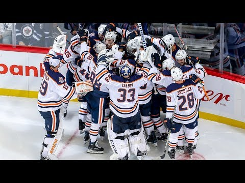 Oilers score four unanswered in wild OT comeback