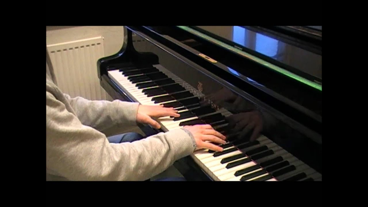 how to play inception on piano