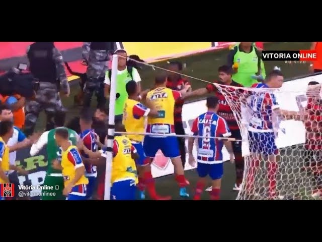 غرائب الدوري البرازيلي.. طرد 9 لاعبين وإلغاء المباراة