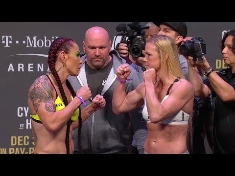Holly Holm, Cris Cyborg ready to scrap at UFC 219