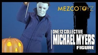 Mezco One:12 Collective Halloween Michael Myers | Spooky Spot 2018 HORROR