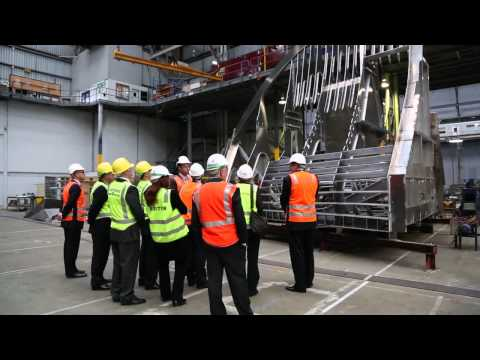 Cape Class patrol boat keel laying ceremony