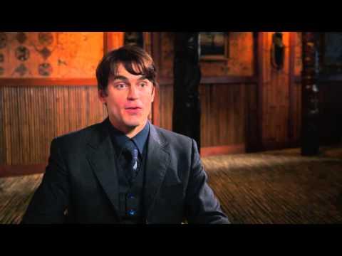 "The Nice Guys: Matt Bomer ""John Boy"" Behind the Scenes Movie Interview"
