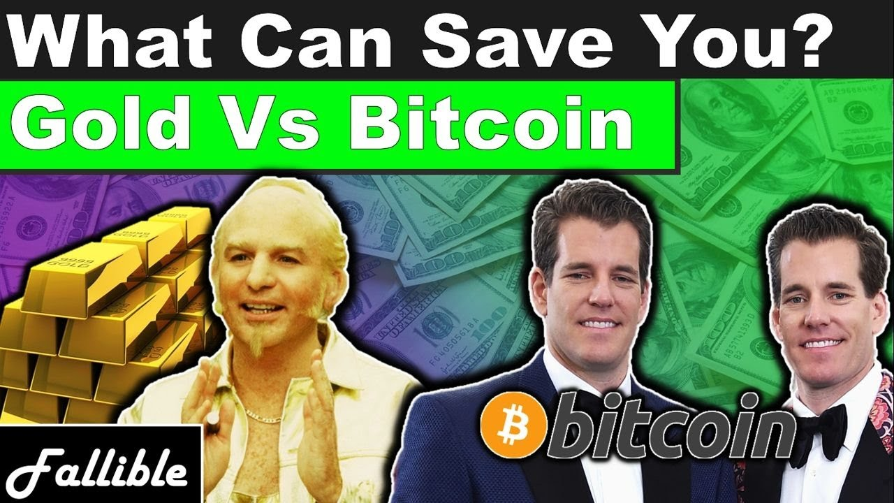 Is Gold Or Bitcoin Better Protection Against A 2020 Market Crash And Recession?