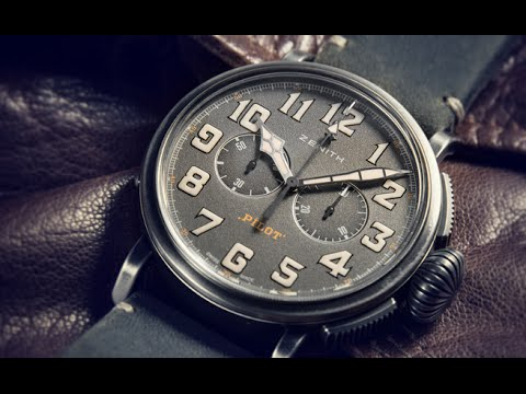 Zenith Pilot Heritage Ton Up - Baselworld 2016 Andorra 500 - DISTINGUISED GENTLEMAN´S RIDE