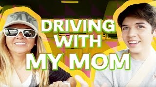 DRIVING WITH MY MOM | MARIO SELMAN