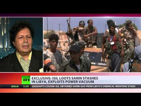 'ISIS stole sarin gas from Libya stores & already used it' - Gaddafi's cousin