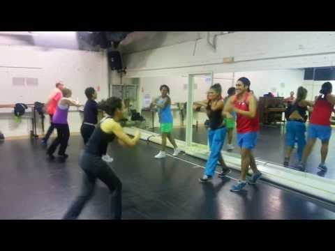 Zumba with Lucy- 'Boogie Shoes' my ORIGINAL CHOREY :)