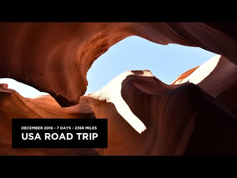USA road trip 2016