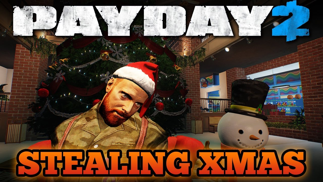 stealing xmas one down payday 2 christmas heist 2016 - Stealing Christmas