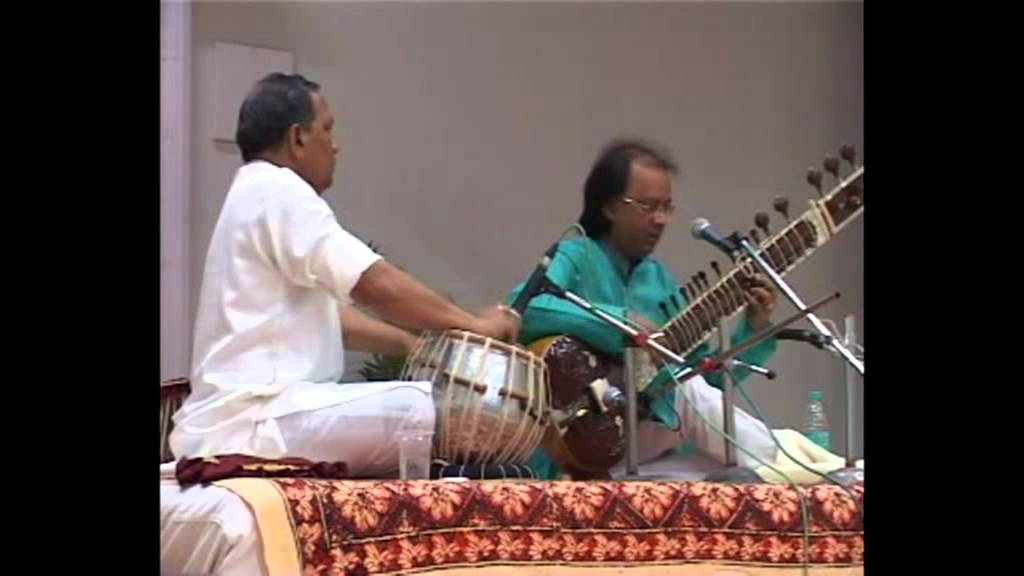 ustad kale ram playing tabla with pandit nayan ghosh (sitar) part 2