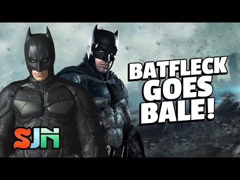 Ben Affleck Does The Christian Bale Batman Voice! (Red Nose Day)
