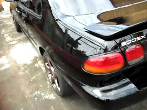 NISSAN 200SX 98 NEO VVL - YouTube