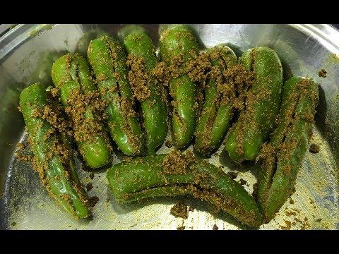 Rajasthani moti hari Mirch ka Achaar recipe   Green chilli pickle recipe   मोटी हरी मिर्च अचार