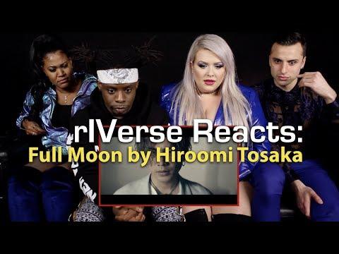 rIVerse Reacts:Full Moon by Hiroomi Tosaka - M/V Reaction