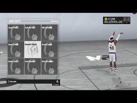 NBA 2K20 Damian Lillard Jump Shot
