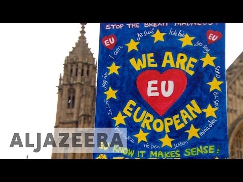 Mixed reaction in UK as Brexit begins