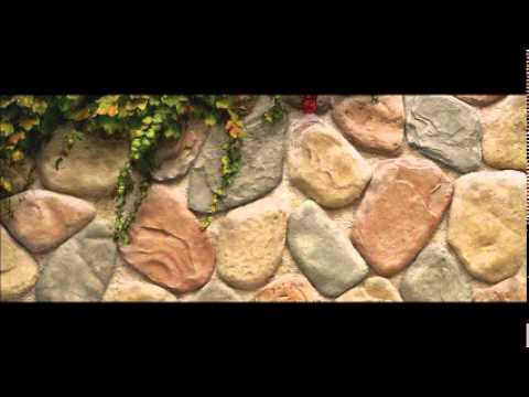 Piedra artificial para decoracion y revestimiento youtube - Hacer pared de piedra ...