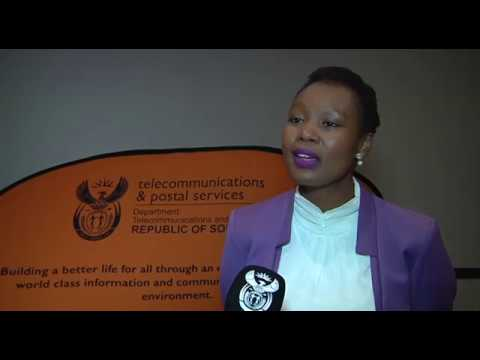 Deputy Minister Stella Ndabeni-Abrahams launches Cyber security portal