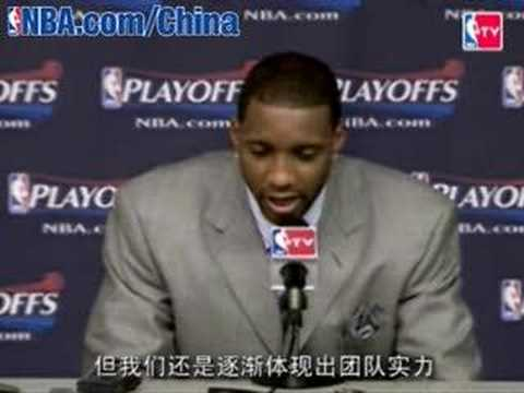 T-mac(Tracy Lamar McGrady)is crying~~~