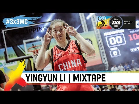 Yingyun LI (China) | Women's Mixtape | FIBA 3x3 World Cup 2018